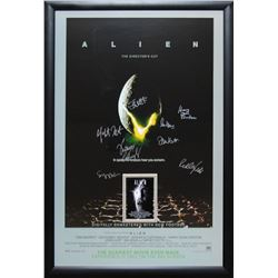 Alien Signed Movie Poster