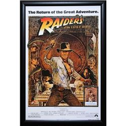 Indiana Jones and the Raiders of the Lost Ark - Signed Movie Poster