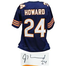 Jordan Howard Signed Navy Custom Football Jersey