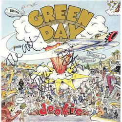 Green Day Band Signed Insomniac Album