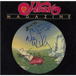 Heart Band Signed Magazine Album