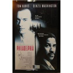 Philadelphia Cast Signed Movie Poster