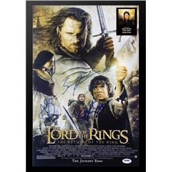 The Lord of the Rings - Return of the King Signed Movie Poster