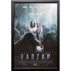 Legend of Tarzan Signed Movie Poster