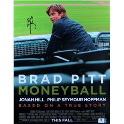 Moneyball Signed Movie Poster
