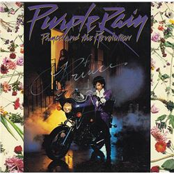 "Prince ""Purple Rain"" Signed Album"