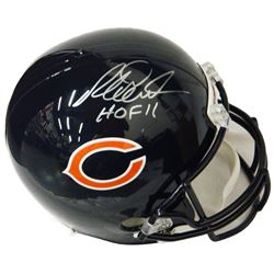 Richard Dent Signed Chicago Bears Riddell Full Size Replica Helmet w/HOF'11
