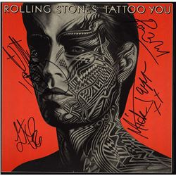 "The Rolling Stones Signed ""Tattoo You"" Album"