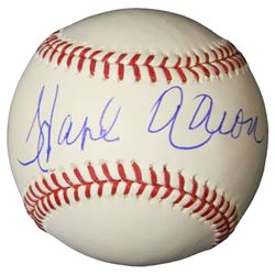 Hank Aaron Signed Rawlings Official MLB Baseball (Steiner)
