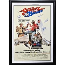 Smokey And The Bandit - Signed Movie Poster