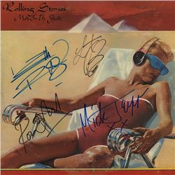 The Rolling Stones Band Signed Made In The Shade Album