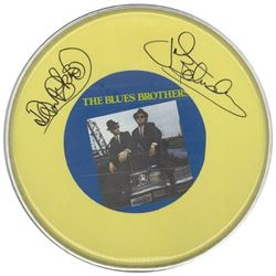 The Blues Brothers Signed Drum Head