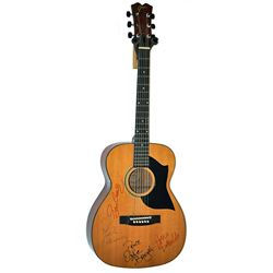 The Young Rascals Signed Guitar