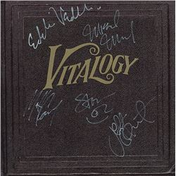 Pearl Jam Band Signed Riot Act Album