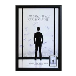 50 Shades of Grey Signed Movie Poster
