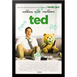 Ted - Signed Photo in Movie Poster