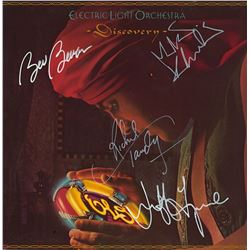Electric Light Orchestra Band Signed Discovery Album