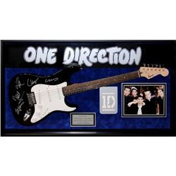One Direction Autographed Guitar