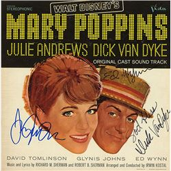 "Julie Andrews ""Mary Poppins"" Signed Soundtrack Album"