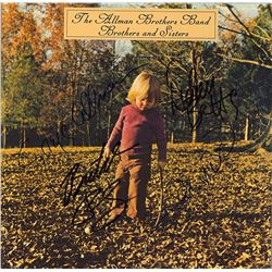 The Allman Brothers Band Signed Brothers and Sisters Album