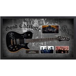 Good Charlotte Autographed Guitar