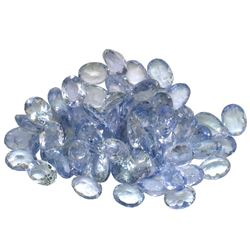 11.05 ctw Oval Mixed Tanzanite Parcel