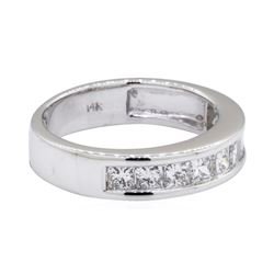 1 ctw Diamond Band - 14KT White Gold