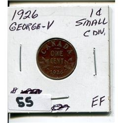 1926 CNDN GEORGE V SMALL PENNY