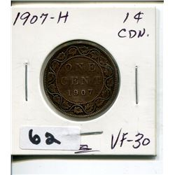 1907 CNDN LARGE PENNY