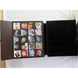 CANADA 2011 - 2015 COLLECTOR SET STORAGE BOX FOR 20 - $20 COINS