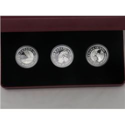 SET OF 3 - $20 COINS ISSUED 2013 BY RCM,