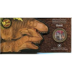 CANADA PROOF 50 CENT COIN DINOSAUR DASPLETOSAURS,2010