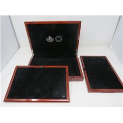 ROYAL CANADIAN MINT 1 OZ. MAPLE WOOD COIN BOX