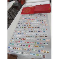 3 POSTERS OF STAMPS 1851 - 1880