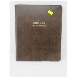 USED DOLLAR COIN ALBUM STORES UP TO 100 COIN