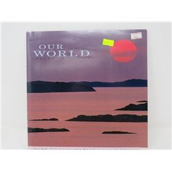 OUR WORLD VOL. 3 COLLECTION OF STAMPS AND IMAGES OF NATURE