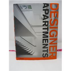DESIGNER BOOK ON EUROPEAN, ASIAN AND NORTH AMERICAN APARTMENTS