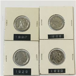 1927 28 29 30 USA Buffalo Nickels