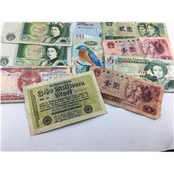 World Bank Note Lot