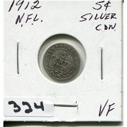 1912 CNDN SMALL 5 CENT PC
