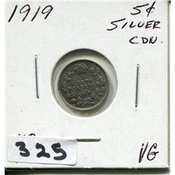1919 CNDN SMALL 5 CENT PC