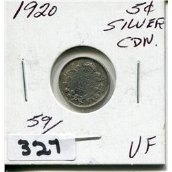 1920 CNDN SMALL 5 CENT PC