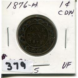 1876 CNDN LARGE PENNY