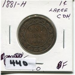 1881 CNDN LARGE PENNY