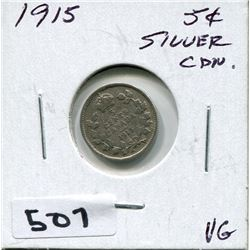 1915 CNDN SILVER SMALL NICKEL