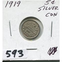1919 CNDN SILVER SMALL NICKEL