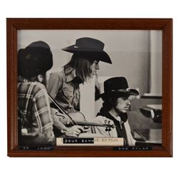 Photo of Doug Sahm & Bob Dylan Armadillo World HQ