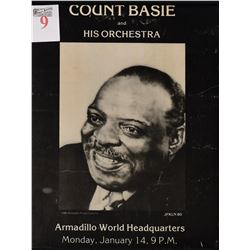 Count Basie Concert Poster- AWHQ Jim Franklin