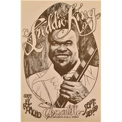Freddie King Armadillo World HQ Poster