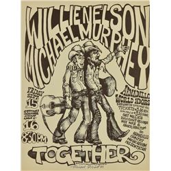 Willie Nelson And Michael Murphy Armadillo WHQ